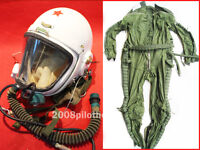 Flight Helmet +High Altitude Astronaut Space Pilots Pressured +FLIGHT SUIT 0 05