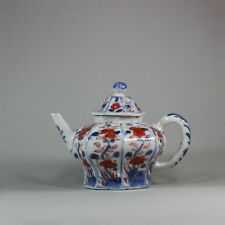 Antique Chinese imari octagonal teapot and cover, mid-18th century