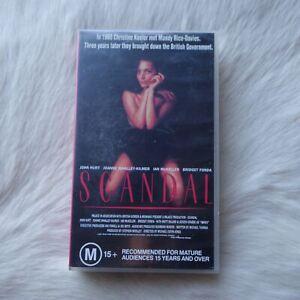 SCANDAL 1989 VHS Video Tape BRITISH DRAMA True to Life John Hurt Ian McKellen