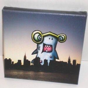 Kudu Lah Shark Jr SIGNED Pop Art Print 2014 On The Town NY East River LE 109/150