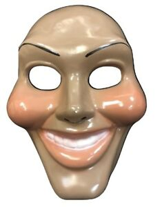 THE PURGE PLASTIC DEFECTS (MARKS) FACE MASK HALLOWEEN FANCY DRESS UP NEW MOVIE
