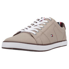 Tommy Hilfiger Iconic Long Lace Sneaker Uomo Beige Brown Scarpe  - 43 EU