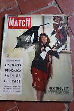 PARIS MATCH 353 14/01/1956 Proust Moscou Mistinguett