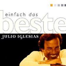"""JULIO IGLESIAS """"EINFACH DAS BESTE"""" CD NEUWARE"""