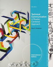 NEW Technical Communication A Reader-Centered Approach 8E Anderson 8th Edition