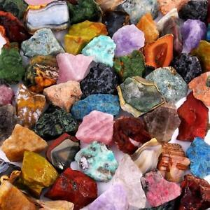 Top - Mischung Edelsteine roh Madagaskar Ø 30 - 50 mm Wassersteine Heilstein Mix