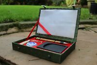 Chinese Painting Kit , set includes inkstone inkstick brushes chop seal cinnabar
