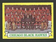 Chicago Blackhawks Team with Tony Esposito 1973-74 Topps Hockey Card #96 NM/M