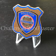 B76 Houston Police Department Texas True Blue Clay Shoot Challenge Coin