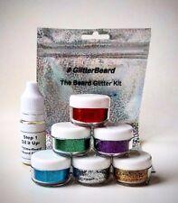 Glitter Beard Kit! Glitter + Beard Oil. Pick your Colour. Party Glitter  Beards