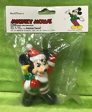 Vintage American Themes Walt Disney Productions Ceramic Mickey Mouse Ornament