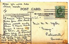 """Family History Postcard - Upton - """"Grays"""" - Petworth - Sussex - Ref 1185A"""