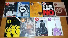 RIVISTA ANARCHICA - ANNO 10-ANNATA COMPLETA da n. 1 a 9 - FEB/DIC 1980 - SR25