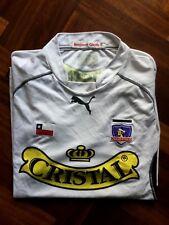 Maglia calcio puma colo colo cile replica 2003 football shirt benjamin casals