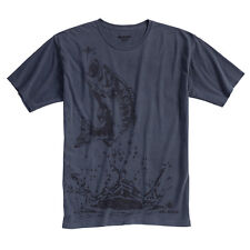 Bass Mens T-Shirt Medium Dri Duck 100% Cotton Fishing Wildlife New