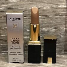 LANCOME ROUGE ABSOLU CREME LIPSTICK IN EMBRACE FULL SIZE NEW FAST SHIP