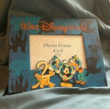 WALT DISNEY WORLD PHOTO FRAME Year 2000 Comemorative Collectible Photo Frame