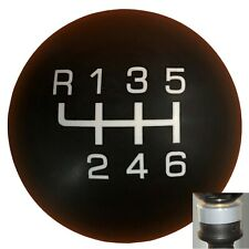 Qualifier Stealth 6 Speed shift knob w/ silver adapter kit fits new Dodge Dart