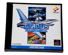 GRADIUS DELUXE PACK Rare Original Sony PS1 PlayStation 1 PS One NTSC-J JAP Game