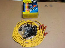 Accel 4039 8mm Yellow Spark Plug Wires Universal Cut to Length 90 Degree Boots