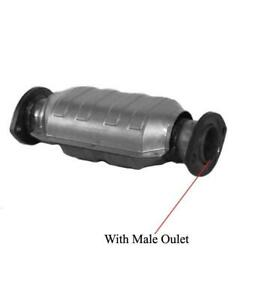 16288 Catalytic Converter 12.5 Inch Converter With Male Outlets Must Check