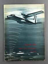 NORD AVIATION 262 RADIO AIDS CALIBRATION AIRCRAFT MANUFACTURERS SALES BROCHURE