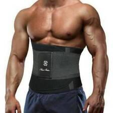 Men's Waist Trainer Cincher Belt Body Shaper Fat Burned Shapewear Back Supports