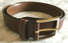 Bench Craft Dunn's Tailored Clothes Men's Dress Belt Leather Brown Sz 34 Canada