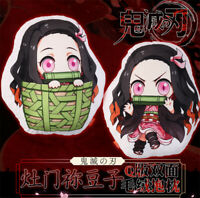 Demon Slayer Kimetsu no Yaiba Kamado Nezuko Pillow Cushion Doll Plush Toy Gift