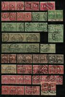 Hungary 1888/1916 range of issues with fine postmarks in pairs and in str Stamps