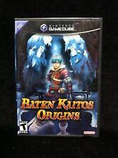 Factory Sealed BATEN KAITOS ORIGINS (Nintendo GameCube 2006) Black Label NEW