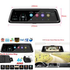 Car DVR Camera Rearview Mirror Cam ADAS G-sensor Universal 4G WiFi Bluetooth GPS