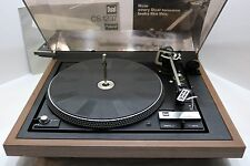 Vintage Dual 1237 Automatic Belt Drive Turntable W/Dustcover & Manual-Needs Work