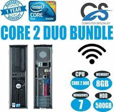 Desktop PC Intel Core 2 Duo RAM 8 GB