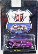 M2 Machines 1949 Mercury Ground Pounders #81161 11-11 New 2011 Purple 1:64