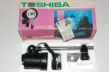 TOSHIBA TM-1 underwater flash / strobe for Nikonos III camera. Vintage, in box