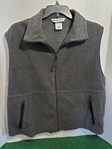 Columbia Men's XL Sleeveless Vest Jacket Soft Material Casual Outdoor Golf Walk