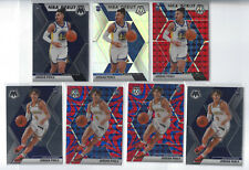 Jordan Poole 2019-20 Mosaic RC Lot (7) 2x Blue Reactive + NBA Debut Silver, Red