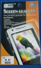 5 packets of mobile phone screen protector for S E W890