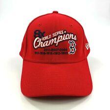 NWOT Boston Red Sox 8x World Series New Era Stretch Fit Hat Cap Small-Medium MLB
