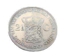 2 1/2 Gulden 1930 Wilhelmina Niederlande