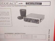 1974 JCPENNEY CB RADIO SERVICE SHOP MANUAL MODEL 981-6200 (PINTO) JC PENNEY