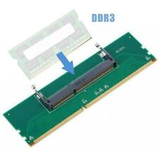 DDR3 Laptop SO-DIMM to Desktop DIMM Memory RAM Connector 5V2 DDR3 Adapter a N1Y4