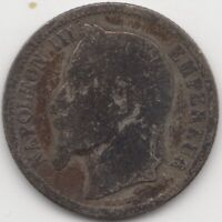 1867 A France Napoleon III Silver 1 Franc | European Coins | Pennies2Pounds