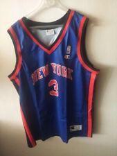 Stephon Marbury 3 New York Knicks NBA basketball jersey Champion size XXL 52