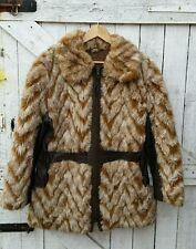 Hippy Faux Fur Vintage Coats & Jackets for Women