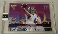 Dak Prescott - 2016 Panini Instant NFL Rookie Card #317 Purple 1/10 Short Print