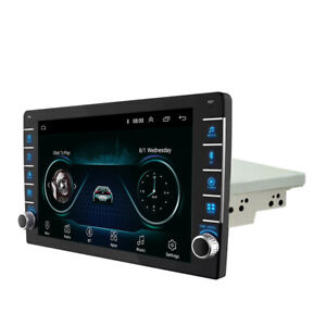 1Din 9in Android 8.1 1080P Touch Screen Car Stereo Radio GPS Wifi Player 2+32GB