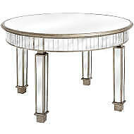 The Belfry Collection Grand Mirrored Dining Table - LAST ONE