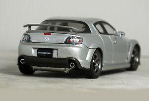 """1:43 AUTOart """"MAZDA RX-8 -Tuned by MAZDASPEED"""" (Silver) #55931 18 RARE HTF RX8"""